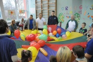 "The International Day of People with Disability was brightened by a visit from the players of ""Neptūnas"""